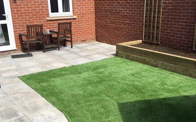 Fake Grass Installation – Witney
